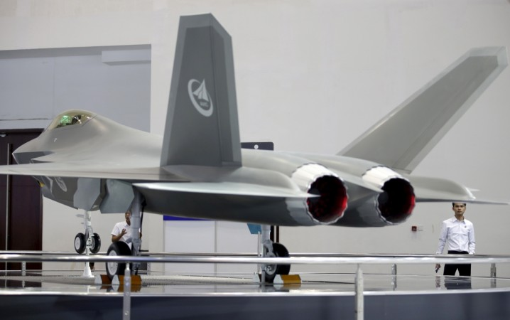 China's stealth fighter aircraft J-31