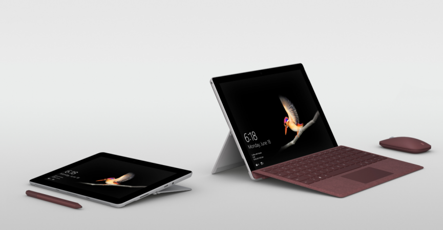 Microsoft, Surface Go, laptops, launch, Apple iPad, rival