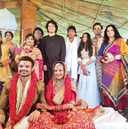 Madalsa Sharma, Mahaakshay aka Mimoh wedding pictures