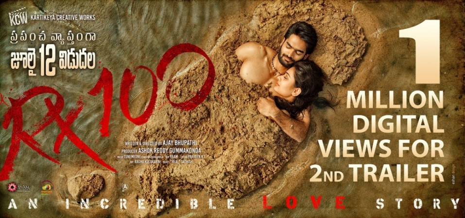 Karthikeya and Payal Rajput in RX 100