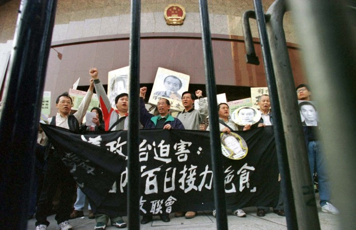 pro-democracy protests in China