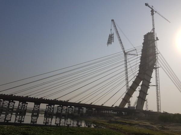 Delhi's Signature Bridge