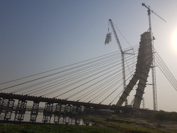 Delhi's Signature Bridge