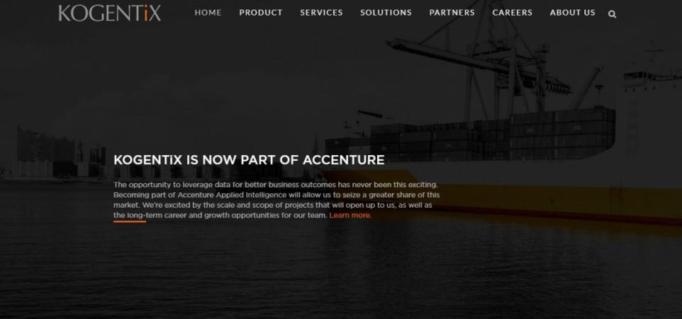Kogentix website