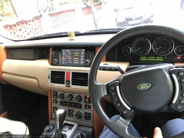 Amitabh Bachchan's Range Rover