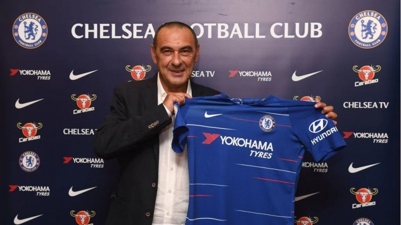 Maurizio Sarri as new Chelsea head coach