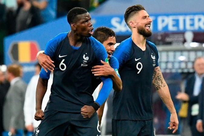 France at Fifa World Cup 2018