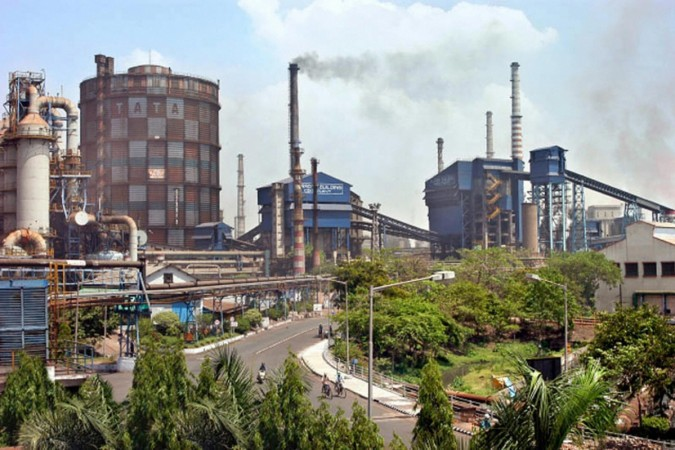 The Tata Steel plant in Jamshedpur