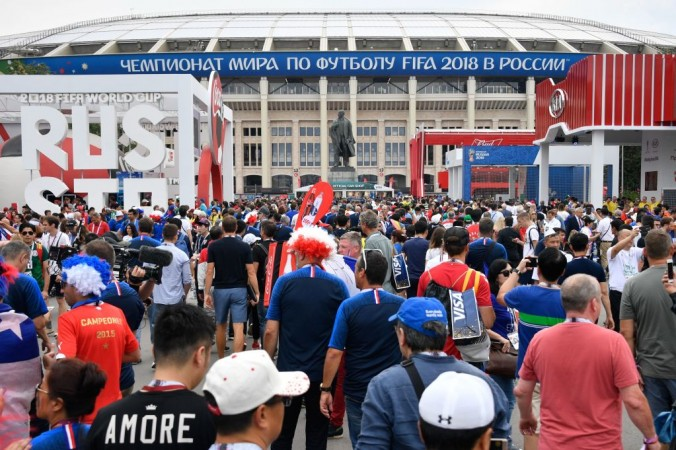 Moscow Fifa World Cup