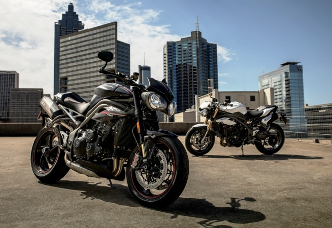 Triumph Motorcycles India Glamourises Street Triple Rs With Two New