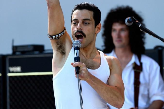 Rami Malek as Freddie Mercury in Bohemian Rhapsody The Movie