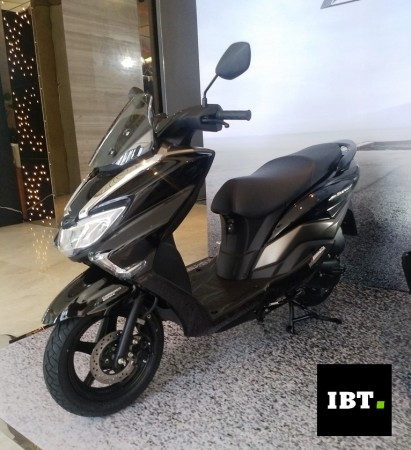 Suzuki Burgman Street 125cc maxi-scooter gets head start in