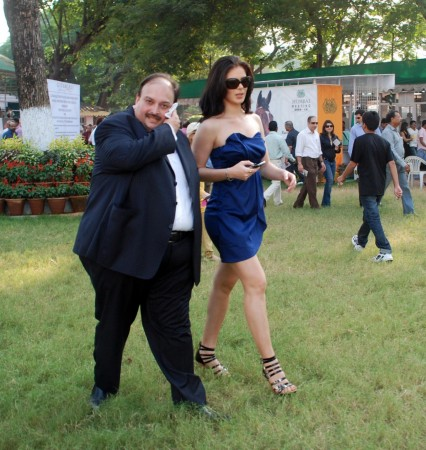 Urvashi Sharma and businessman Mehul Choksi