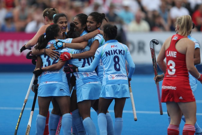 India at Women's Hockey World Cup 2018