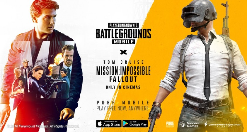 PUBG x Mission: Impossible Fallout event begins