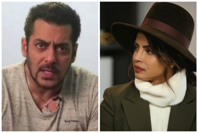 Salman Khan is reportedly miffed with Priyanka Chopra