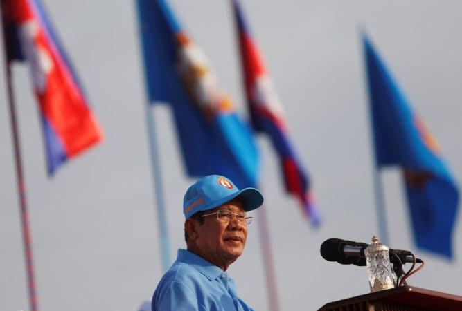 Cambodia's Prime Minister Hun Sen