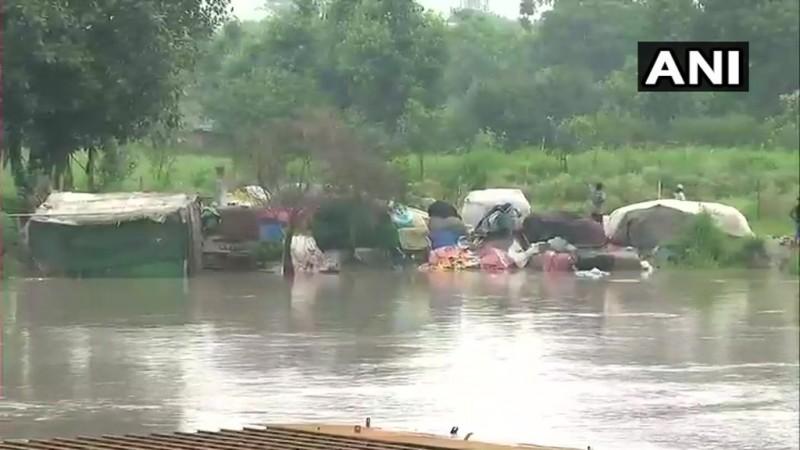Yamuna river in Delhi