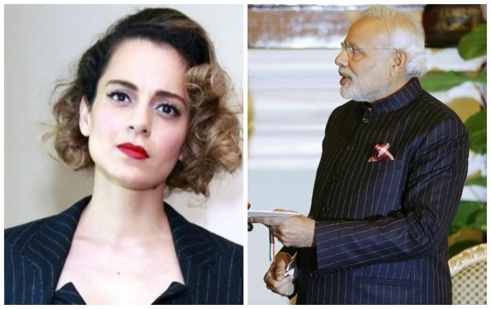 Kangana Ranaut praised Narendra Modi