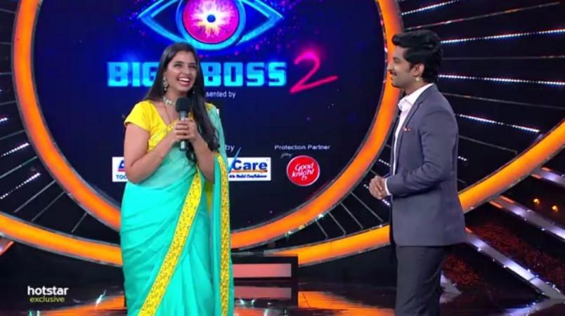 Shyamala enters Bigg Boss Telugu 2 as wildcard
