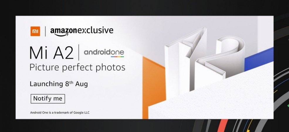 Xiaomi Mi A2 coming to India on August 8