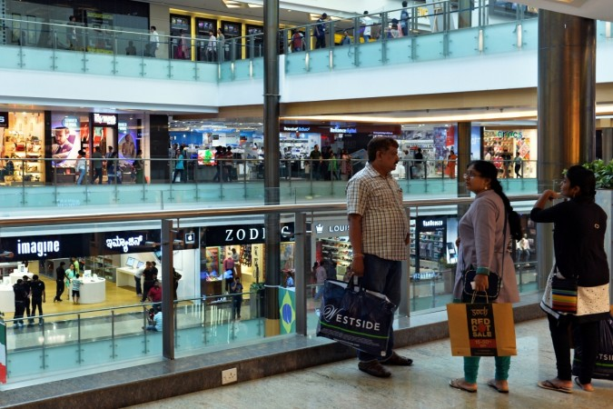 a mall in Bangalore