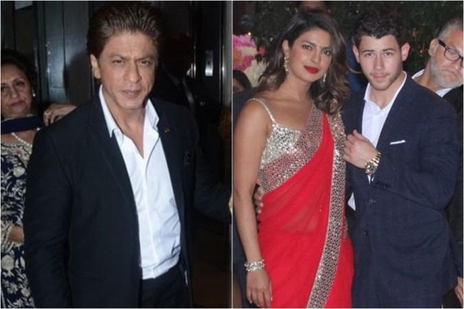 Shah Rukh Khan, Priyanka Chopra, Nick Jonas