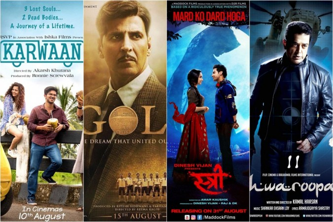 Karwaan, Gold, Stree, Vishwaroopam 2: List of upcoming