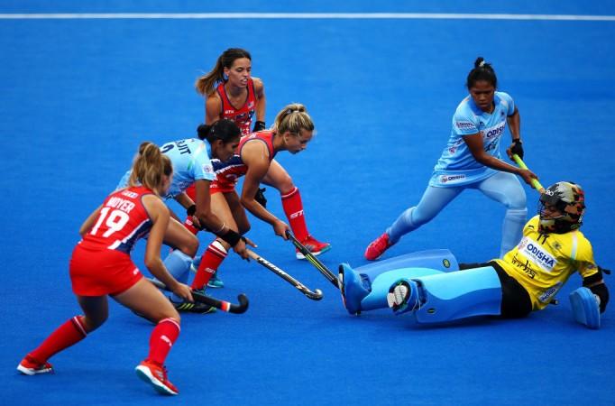 Savita India hockey goalkeeper