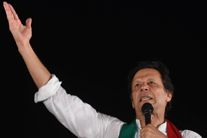 How a phone app and a database served up Imran Khan's Pakistan poll