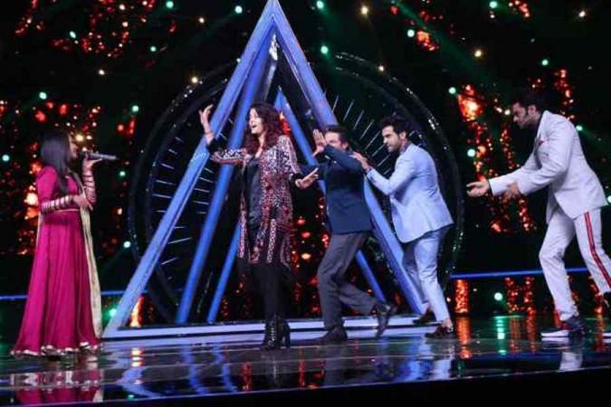 Indian Idol 10: Aishwarya Rai Bachchan and Anil Kapoor