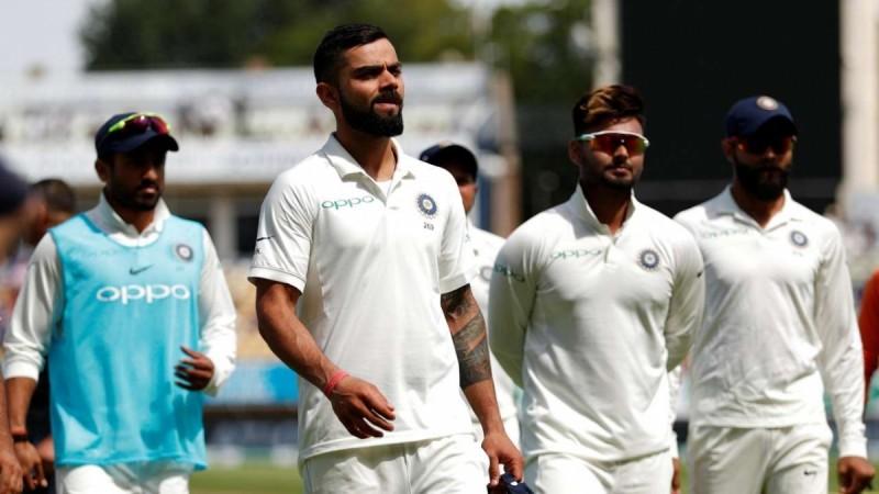 Virat Kohli after India's loss