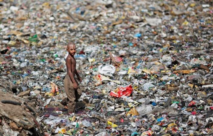 New Delhi garbage