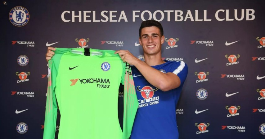 outlet store 089eb 9ac2a Chelsea ropes in Kepa Arrizabalaga for world record fee ...
