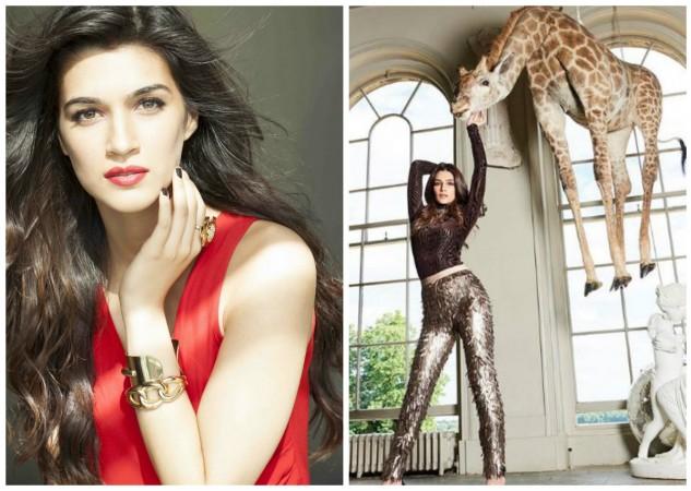 Kriti Sanon trolled for Cosmo India photoshoot