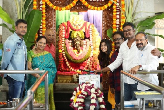 Image result for yajamana darshan and rashmika