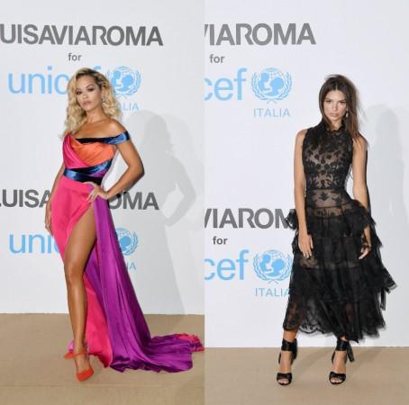 Rita Ora, Emily Ratajkowski
