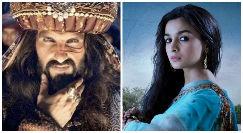 Ranveer Singh in Padmaavat and Alia Bhatt in Raazi