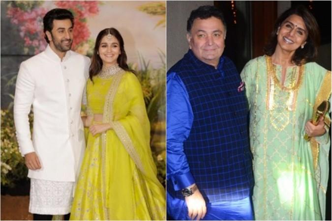 Ranbir Kapoor, Alia Bhatt, Rishi Kapoor, Neetu Kapoor