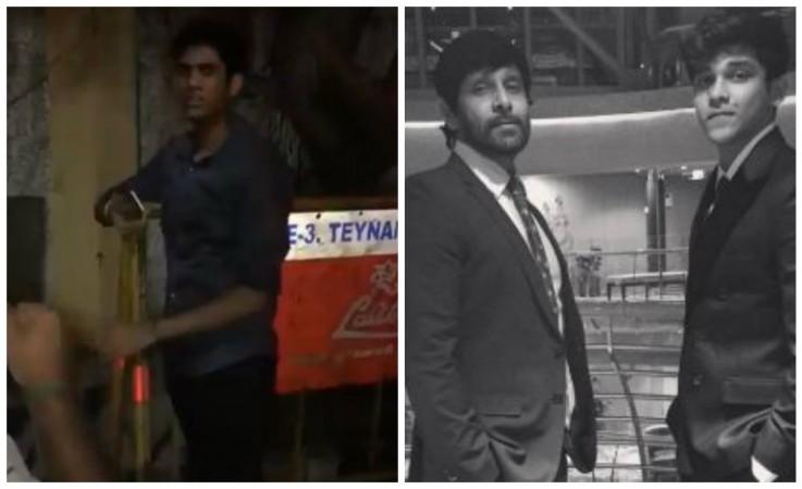 Vikram's son Dhruv rams car into auto-rickshaws