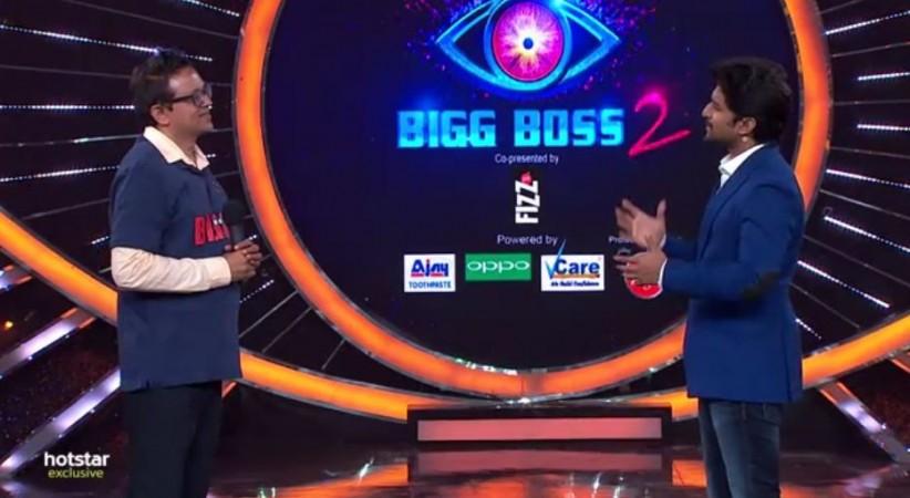 Babu Gogineni in conversation with Nani on Bigg Boss Telugu 2