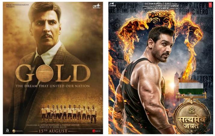 Gold and Satyameva Jayate box office prediction