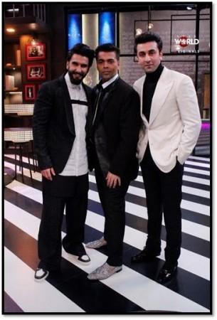 Ranveer Singh and Ranbir Kapoor: Koffee With Karan Season :
