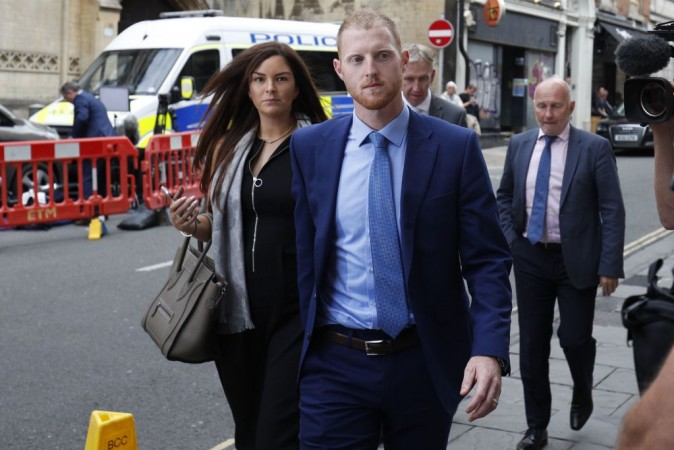 Ben Stokes and wife Clare