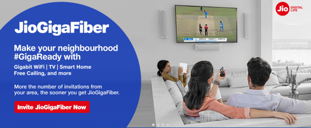 Jio GigaFiber Triple Play set to launch soon: All you need know