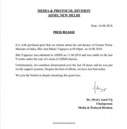 Medical bulletin of vajpayee