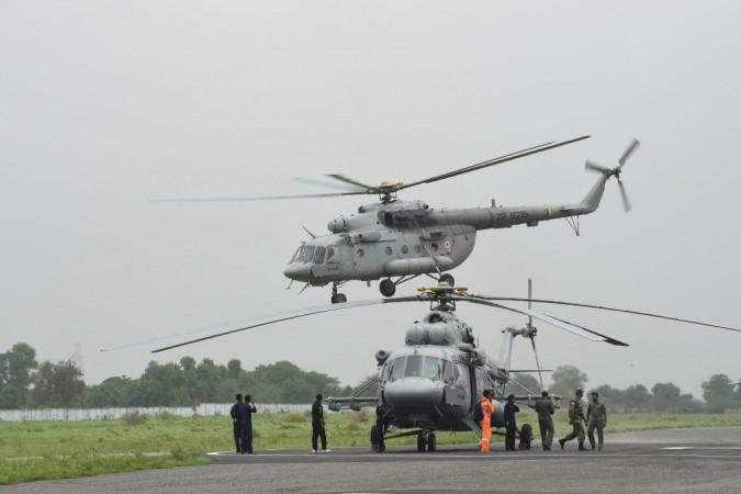 Indian Air Force Helicopter
