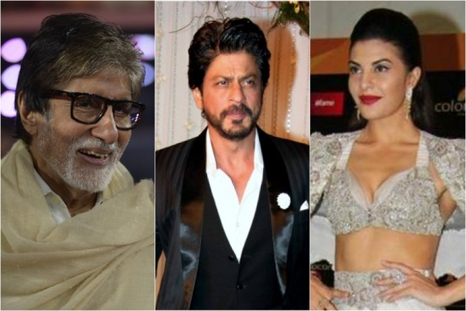 Amitabh Bachchan, Shah Rukh Khan, Jacqueline Fernandez