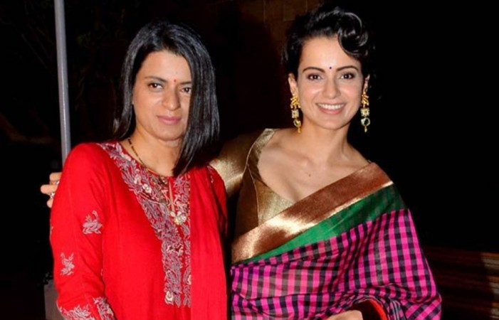 Kangana Ranaut, sister Rangoli Chandel