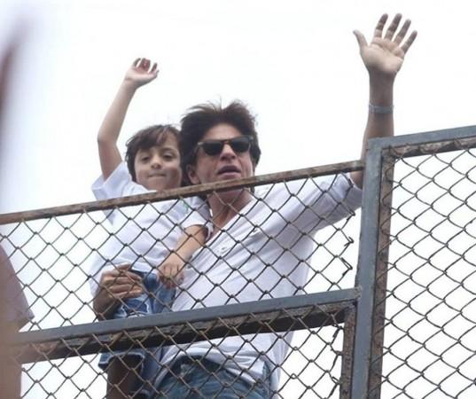 Shah Rukh Khan, son AbRam
